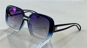 النظارات الشمسية تصميم الأزياء 7016-S الكلاسيكية بسيط بسيط مربع مربع مختلط سلسلة متدرجة اللون أعلى جودة uv400 عدسة