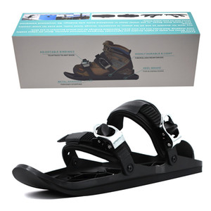 Men's new fund mini ski sandals skiing outdoor sports wear sandals wearable mini sled shoes