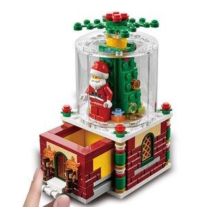 Lego Sembo Blok Oyuncak Çocuk Eğitim Meclisi ile Uyumlu Noel Kız Hediye Boy Küçük Parçacık Bulmaca