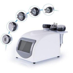 5 In 1 Beauty Equipment RF Vacuum 40K Cavitation Ultrasonic Lipolysis Fat Reduction Slimming Machine Body Weight Shaping Loss
