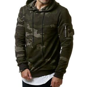 Hoodies Men 2019 New Sweatshirt Male camo Hoody Hip Hop Autumn Winter Fleece Military Hoodie US Plus Size 3XL