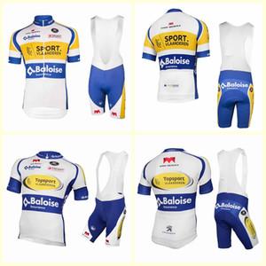 Vlaanderen team Cycling Short Sleeves jersey (bib) bike shorts suit MTB Ropa Ciclismo mens summer bicycling Maillot clothing B615-28