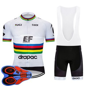Men EF Education First Team Cycling short sleeve Jersey bib shorts Kits Summer quick dry MTB Bike Outfits Road bicycle Clothing Y20101303