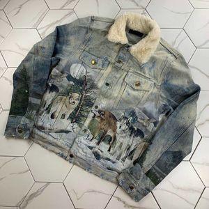 Homens jaqueta jaqueta de inverno jaqueta grega jeans jeans jeans jaquetas magro fita azul masculino outerwear roupas cowboy casacos streetwear hip hop wear