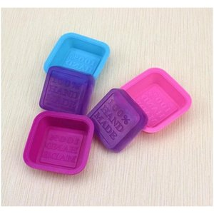 100% Handmade Soap Molds Diy Square Sile Moulds Baking Mold Craft Art Making Tool Diy wmtXxY toys2010