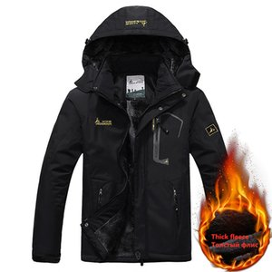 2020 Winter Parka Men 6XL Plus Velvet Warm Windproof Coats Mens Military Hooded Thick Jackets Masculino Casacos Outwear Overcoat Y1112
