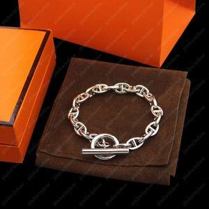 Chaînes hommes Bracelets Chaîne Femmes Designers Bracelet Messika Bijoux Bijoux de Créateurs De Luxe Femmes Bracelets Pour Hommes Neuf 20121701L
