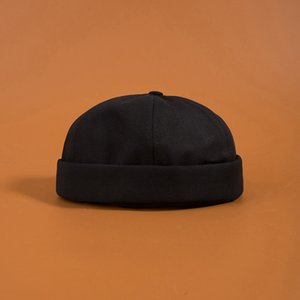 Summer Cotton Crullies sans bride Capuchon Cap Vintage Urban Street Street Portable Docker Chapeaux Multipurpose Miki Bonnet Hat