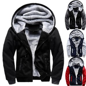 2020 Newset Men Coat Jacket Outwear Winter Slim Hoodie Warm Hooded Tracksuits Stylish Fashion Design Bursting Drop Ship 5XL