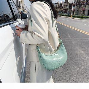 2020 new shoulder bag ladies Korean casual multifunctional messenger bag fashion simple solid color armpit women
