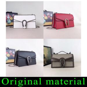 Hohe Qualität Lychee Leder Retro Luxurys Tasche Die einzelne Schultertasche Handtasche Qualität Designer Original Leder Umhängetasche Diagonale