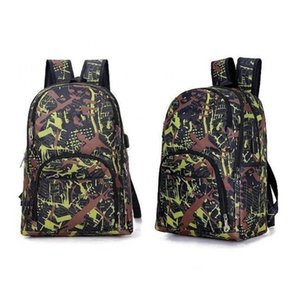 2021 Melhor Sacos ao ar livre Camuflagem Travel Mochila Computador Bag Oxford Freio Chain Cadeia Médio Estudante Saco Muitas Cores