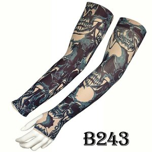 Outdoor Sports Sunscreen long Sleeve Arm Sleeve Silky Smooth Chinese Style Tattoo Design Cycling Arm Sleeve