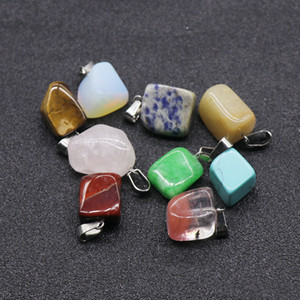 Irregular Necklace Pendant Natural Healing Crystals Stone Agate Small Accessories Womens Mens Pendants Delicate Hot Sale 0 7ks M2