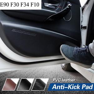 E90 F30 F34 F10 Auto Styling Auto Tür Anti-Kick Pad Aufkleber Kohlefaser Leder PVC Performance Sport Power Aufkleber Aufkleber