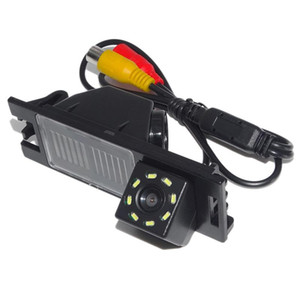Car Rear View Camera Reversing Parking Spare 8Led Waterproof Night-Vision Camera For New Tucson Ix35 2006-2014