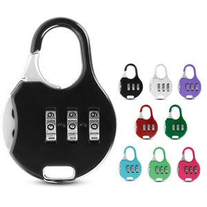Mini Padlock For Backpack Suitcase Stationery Password Lock Student Children Outdoor Travel GYM Locker Security Metal