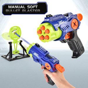 Niño juguete manual bala suave blaster toys disparando el arma 2020 Venta caliente regalo del niño