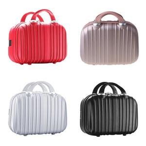 14in Cosmétic Case Bagage Petite Voyage Pochette Portable Portable Coffret Valise multifonctionnelle pour maquillage