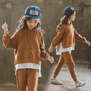 New Spring Baby Girls Boys Clothing Infant Casual Sport T Shirt Pants 2Pcs Sets Kids Child Clothes Suits Cotton Tracksuits Y200829