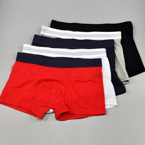 Fashion Stripe Summer Men Underwear Cotton 6 Color 4 Size Mens Boxers New Style Waist Print Letter Men's Boxers
