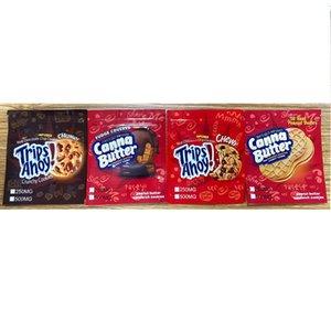 바삭 바삭한 쿠키 여행 Ahoy Gummy Edibles 포장 Canna 버터 초콜릿 칩 땅콩 버터 샌드위치 쿠키 약용 사탕 가방