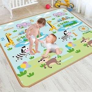 Xpe 200x180cm Baby Play Mat Puzzle Children's Mat Thickened Tapete Infantil Baby Room Crawling Pad Folding Mat Baby Carpet LJ201118
