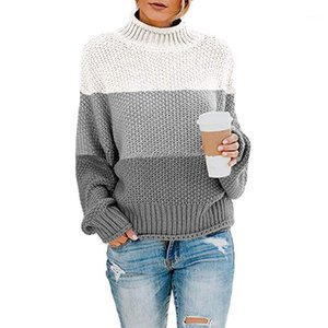 Sweater Pull Pullover Sweter Simplee Sweaters Trui Women Winter Tops Casual Long Sleeve Turtleneck Chunky Knit Jumper Knitted1