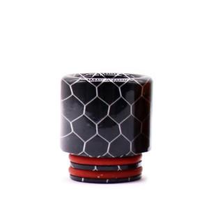 Drip punta serpente a forma di pelle lunga resina epossidica lunga tfv8 drip punta fit tfv8 big baby tfv12 principe 810 atomizzatori accessori per fumo 190 k2