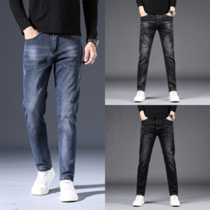 zcZ1 Pants Ripped Vintage Side Striped Pencil Mens Male Distrressed Slim Fit Skinny Jeans 4 jeans basketball shoe