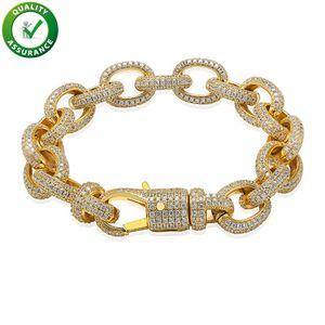 Mens Bracelets Luxury Designer Bangles Hip Hop Jewelry Pandora Style Charm Bracelet Gold Lucky Iced Out Chains Diamond Tennis Wedding Love