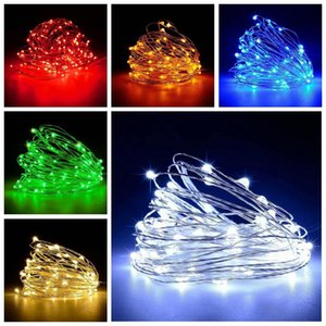 1M 2M 3M Lamp Cork Shaped Bottle Stopper Light Glass Wine Waterproof LED Copper Wire String Lights For Xmas Wedding Party Decor DHE3076