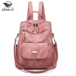 Zhenli New 2020 Small Bag Bag Niche Backpack Cross-Border Bags Women Delivery Wholesale