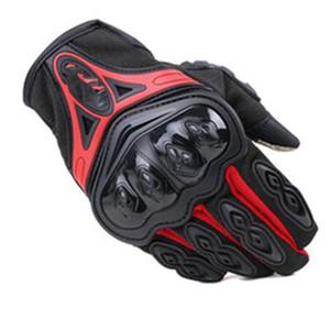 Guantes de motocicleta para motorista deportivo al aire libre Finger Moto Moto Motocross Equipo protector Guantes Guante de carreras