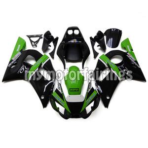 Fairings for 1998 Yamaha YZF R6 1999 2000 2001 2002 Bodywork YZF600 98 99 00 01 02 Body Kits - Black Green