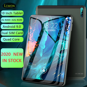 2020 Neue Dual SIM-Karte 10 Zoll Tablet PC 2 GB RAM 32GB ROM Android 9.0 WIFI 3G Network Smart Tablet Bluetooth 1280 * 800 IPS LCD