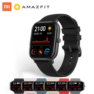 xiaomi! 글로벌 버전 AmazFit GTS 스마트 시계 5ATM 방수 수영 Smartwatch 14 일 Android 용 배터리 음악 제어