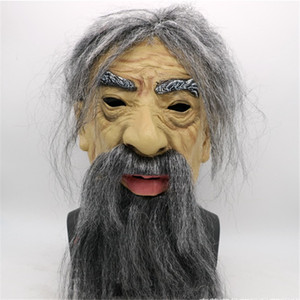 Another Me-The Elder Halloween Holiday Funny Masks Supersoft Old Man Adult Mask old man latex mask