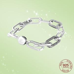 925 Sterling Silver Fixed buckle Bracelet Suitable for Women To Wear Fashion Jewelry DIY Jewelry B1203