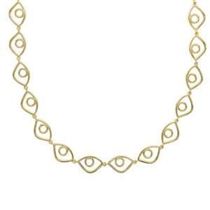 2020 Новые ожерелья Choker Coolye Lucky Evil Eye цепи ожерелье Золотой цвет Винтаж многослойных модных ювелирных изделий для женщин1