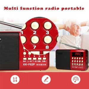 Portable Multifunctional Radio MP3 Player Support TF Card for Elderly People GDeals1