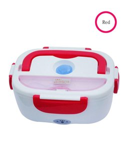 12v Mini Electric Car Heat Insulation Thermo Lunch Box Charging Hot Rice Cooker Multi Functional Plug Plastic Box Seal Cutlery jllUcG