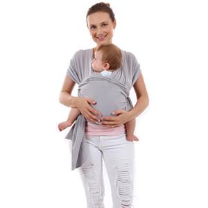 Baby Carrier Sling pour les nouveau-nés Soft Infant Wrap Wrap Hipseweed Naissance Couverture infirmière confortable