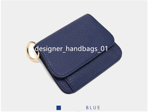 HBP Wallets High quality women Short Wallet Leather black Wallets purse Style Purse Wallet card Holders with gift box 35