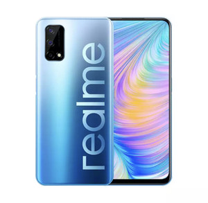 Original Realme Q2 5G Mobile Phone 6GB RAM 128GB ROM MTK 800U Octa Core Android 6.5 inch Full Screen 48MP Fingerprint ID Smart Cell Phone