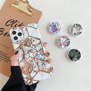 Flykylin Marble Foldable Mobile Phone Grip Bracket Phone Expanding Stand Phone Holder For Iphone Samsung Huawei Xiaomi sqcoyD