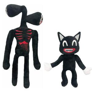 Anime Sirene Kopf Plüschtier Legends of Horror Black Cat Gefüllte Puppe Juguetes Sirenenhead Peluches Spielzeug für Kinder Geschenke