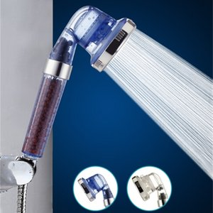 Heads 3 Function 125 Degrees High Pressurize Handheld Water Saving Plastic Shower Head Bathroom Filter Spray