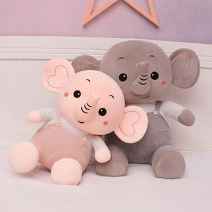 50cm 60cm 80cm Creative Animal Plush Toys Cute Elephant Dolls Soft High Quality Stuffed Animal Kids New Year Christmas Gifts