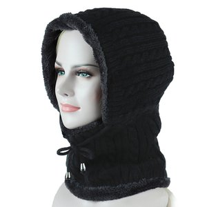 Şapka Ozyc Örme Beanie Eşarp Skullies Beanies Kış Kadın Erkek Caps Gorras Bonnet Maskesi Marka Şapka
